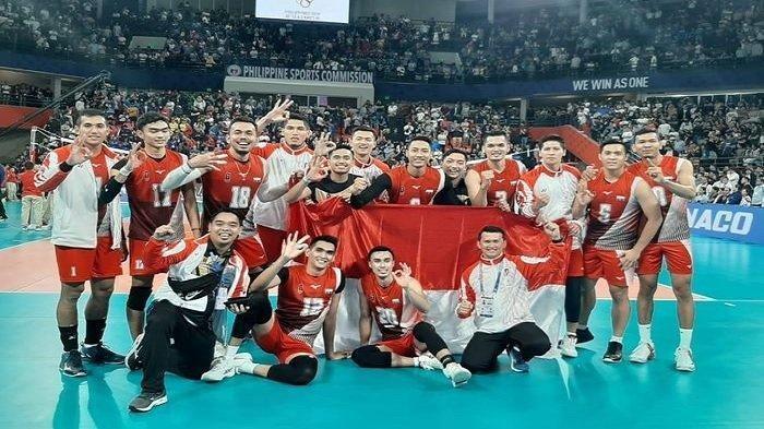 Timnas Voli Putra Indonesia Raih Medali Emas di SEA Games 2019, Putus Tren Buruk