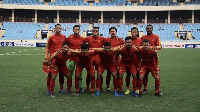 Jadwal Timnas U-23 Vs Arab Saudi di CFA International Football 2019, Disiarkan Langsung di RCTI