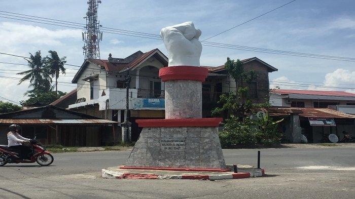 Monumen Tugu Bagindo Aziz Chan Ditandai Tugu Tinju di Kota Padang, Bukti Gugurnya Sang Pahlawan