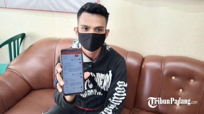 Seorang Kurir di Padang Ngaku Kena Tipu, Diduga Ulah Pelaku yang Lakukan Pemesanan online