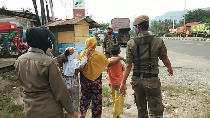 7 Anak dan 1 Orang Tua Terjaring Razia Satpol PP Padang, Dititipkan di LPKS Kasih Ibu Air Dingin