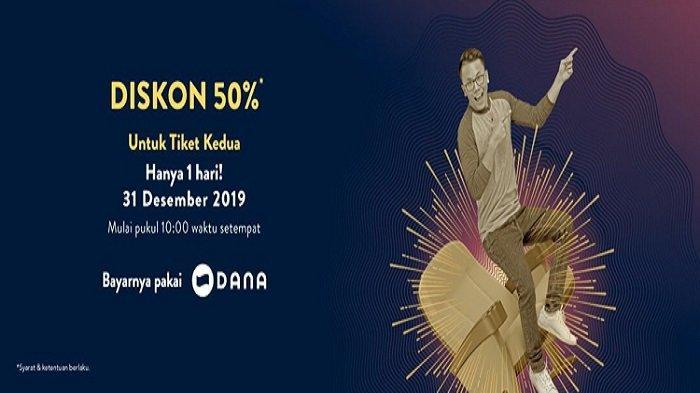 Promo TIX ID 50 Persen Tiket Kedua, Khusus 31 Desember 2019 untuk Semua Film