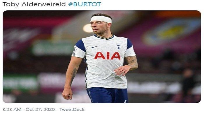 Luka di Kepala Toby Alderwireld 'Tumbal' Kemenangan Tottenham Hotspur, Raih 3 Poin di Markas Burnley