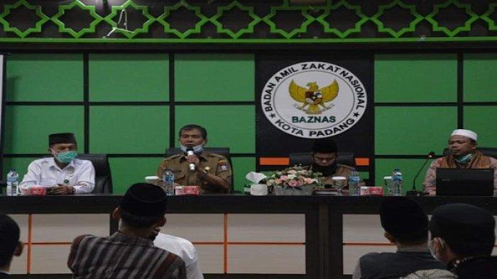 Baznas Kota Padang Bantu 10 Jamaah Setiap Masjid/Musala, Catat Syarat dan Ketentuan