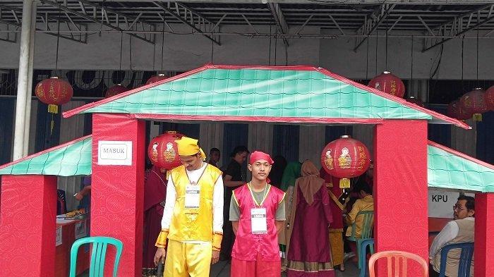 Di Kota Padang Ada TPS Bernuansa Budaya dari 3 Negara, Indonesia, China dan India