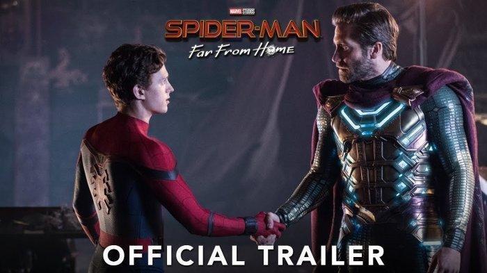 Jadwal Bioskop Selasa 9 Juli di Pekanbaru, Film Spider-Man: Far From Home Terakhir Jam 21.30 WIB