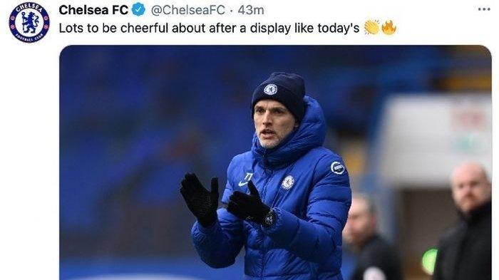 Pelatih Chelsea, Thomas Tuchel, mengatakan timnya menampilkan permainan yang lengkap saat menang melawan Burnley pada lanjutan Liga Inggris, Minggu (31/1/2021).