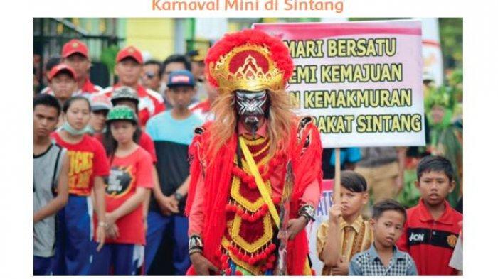 Tuliskan Informasi Baru yang Kamu Dapatkan dari Teks 'Karnaval Mini di Sintang'