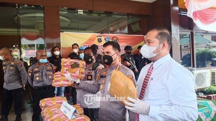 Ungkap Kasus Peredaran Ganja di Kota Padang, Kapolresta Kombes Pol Imran Amir: Masih Ada Pelaku Lain