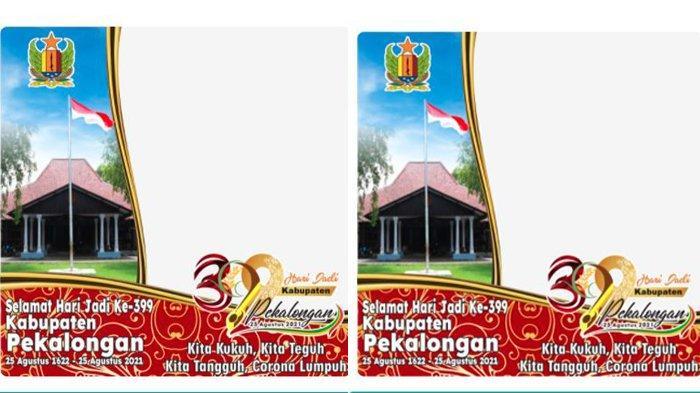 Twibbon Selamat Hari Jadi ke-399 Kabupaten Pekalongan, Simak Cara Unggah Foto ke Media Sosial