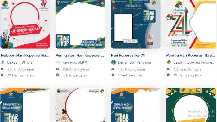 11 Link Twibbon Hari Koperasi Nasional 2021, Pilih Frame Foto di di Twibbonize.com