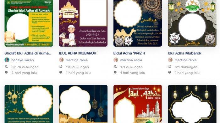 20 Link Frame Foto Pakai Twibbon Idul Adha 2021, Tinggal Klik dan Unggah di Medsos