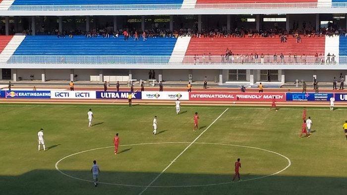 Timnas U-19 Indonesia Balas Kekalahan Atas Iran di Stadion Mandala Krida, Yogyakarta