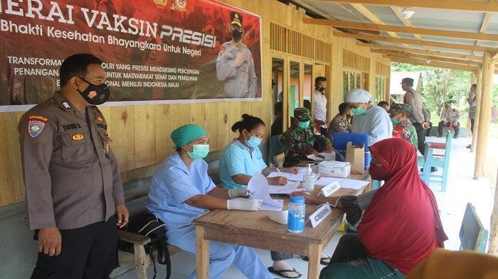 Ada Gerai Vaksinasi di Gereja, dan Pondok Pesantren di Kepulauan Mentawai