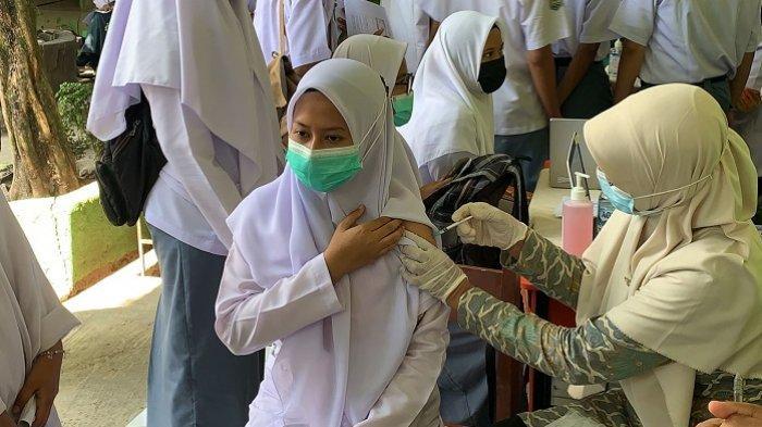 BIN Sumbar Lanjutkan Vaksinasi di Padang Pariaman, Sasar 1.300 Pelajar hingga Datangi Rumah Warga