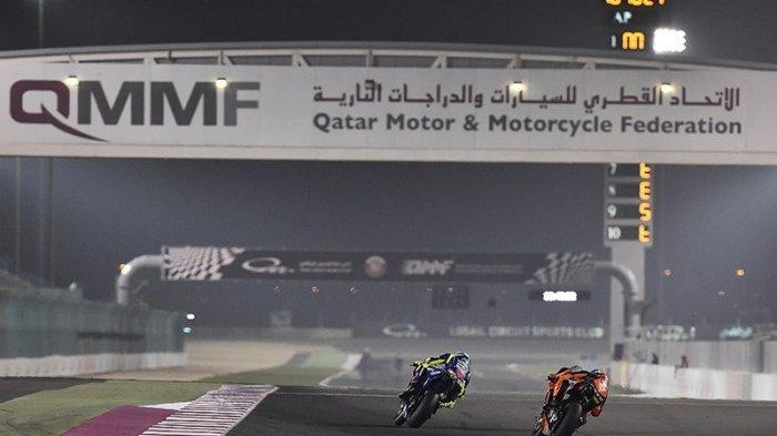 SAKSIKAN Live Streaming MotoGP Qatar 2021, Malam Ini Tonton Lewat HP dan di Trans7 dan Fox Sports