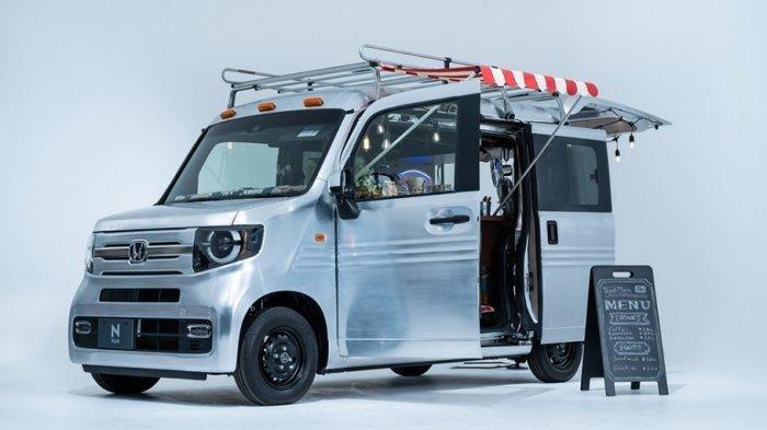Honda Pamerkan Mobil Modifikasi Berkonsep Open Cafe, Lewat Virtual Auto Salon 2021