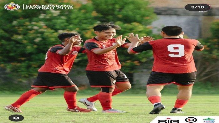 Semen Padang FC Menang Tipis Laga Uji Coba Kontra KS Tiga Naga, Weliansyah Lakukan Evaluasi