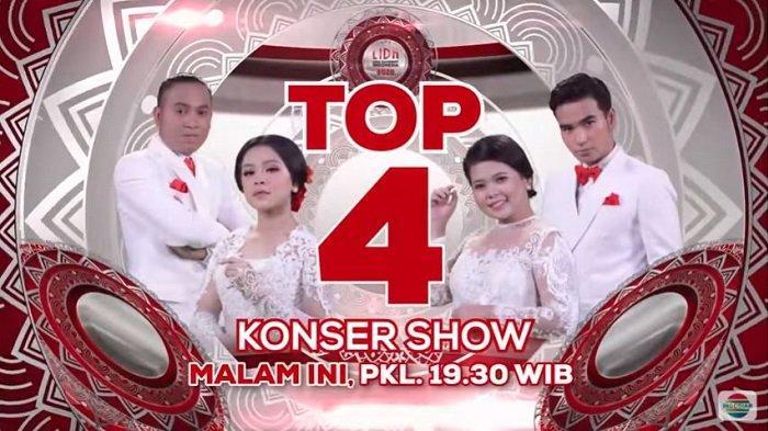 HASIL Polling Sementara Top 4 LIDA 2020 Indosiar, Tonton Video Penampilan Konser Show Tadi Malam