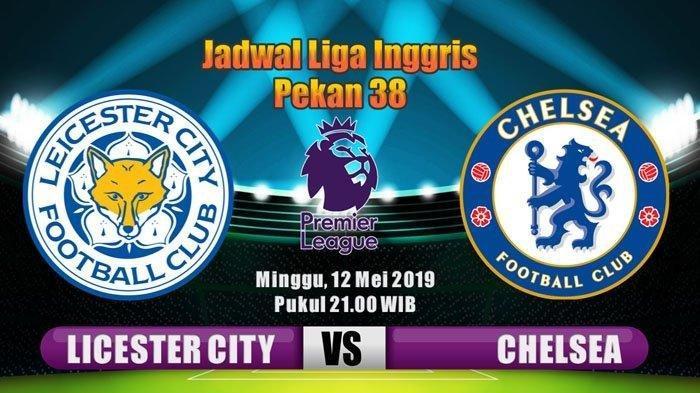 Ilustrasi: Leicester City vs Chelsea Liga Inggris