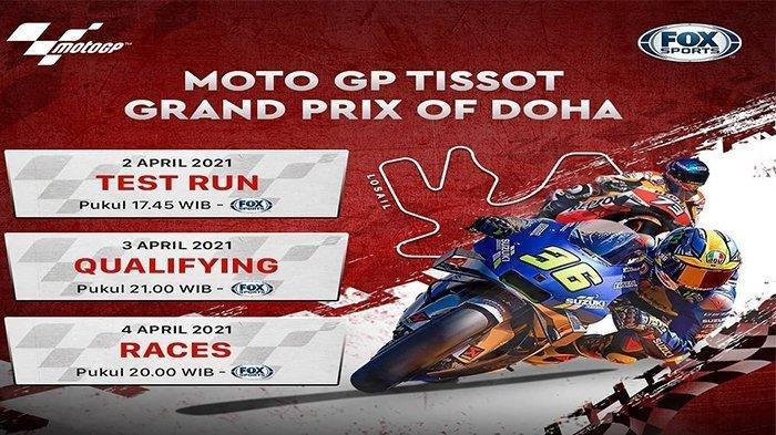 Valentino Rossi Jadi Pembalap Gaek di MotoGP Doha: Live Streaming, Link Trans7 & Nonton Fox Sports