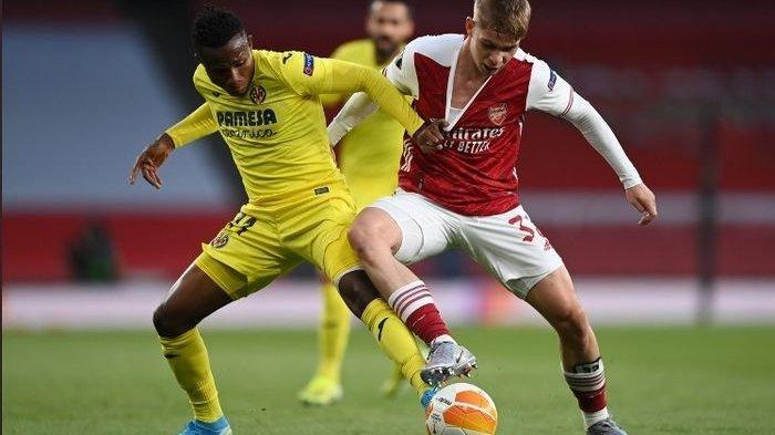 Pertandingan Arsenal versus Villarreal pada semifinal leg kedua Liga Europa, Kamis (6/5/2021) waktu setempat atau Jumat (7/5/2021) dini hari WIB.