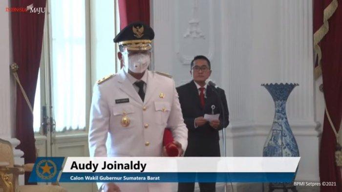 Perkenalkan Wagub Sumbar: Ir Audy Joinaldy, SPt, MSc, MM, IPM, ASEAN.Eng, Datuak Rajo Pasisia Alam