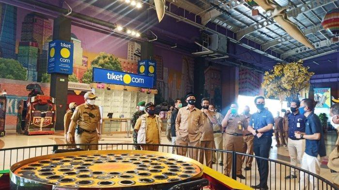 Hari Pertama Transisi New Normal di Padang, Wali Kota Tinjau Kesiapan Pusat Perbelanjaan