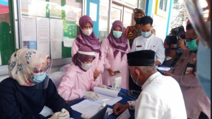 Wali Kota Padang Mahyeldi Juga Batal Disuntik Vaksin Covid-19, Tekanan Darah Tinggi