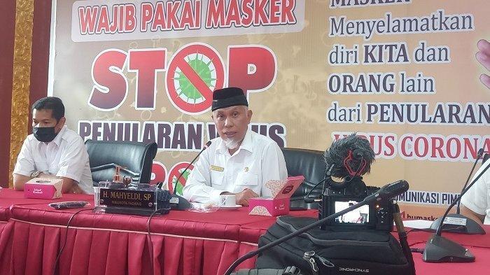 Besok, Wali Kota Padang Mahyeldi Divaksin di Pukesmas Padang Pasir