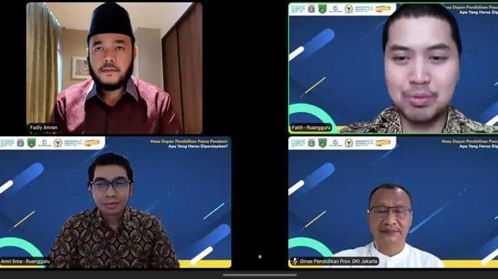 Jadi Keynote Speaker KNGI 2021 Fadly Amran Paparkan Inovasi Pembelajaran Sekolah di Padang Panjang