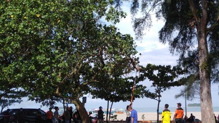 Wali Kota Pariaman Genius Umar Ajak OPD dan ASN Langsung Bersihkan Pantai Gandoriah