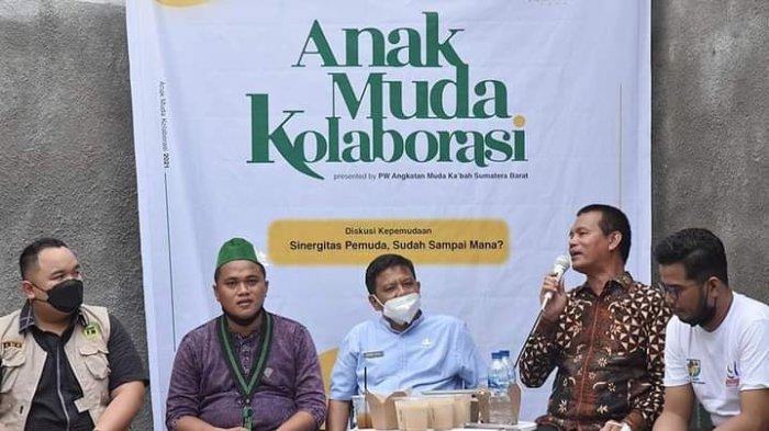 Diskusi Bersama Pemuda, Wali Kota Pariaman Genius Umar Tekankan Pentingnya Kolaborasi