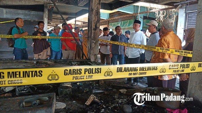 Walikota Padang Mahyeldi Minta Pedagang di Pasar Raya Waspada Agar Tidak Terjadi Musibah Kebakaran