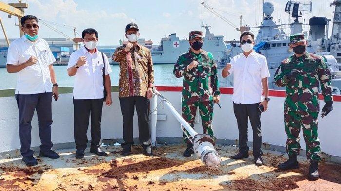 KRI Teluk Ratai 509 yang Dihibahkan ke Pemko Pariaman Dijadikan Museum Angkatan Laut di Pantai Pauh