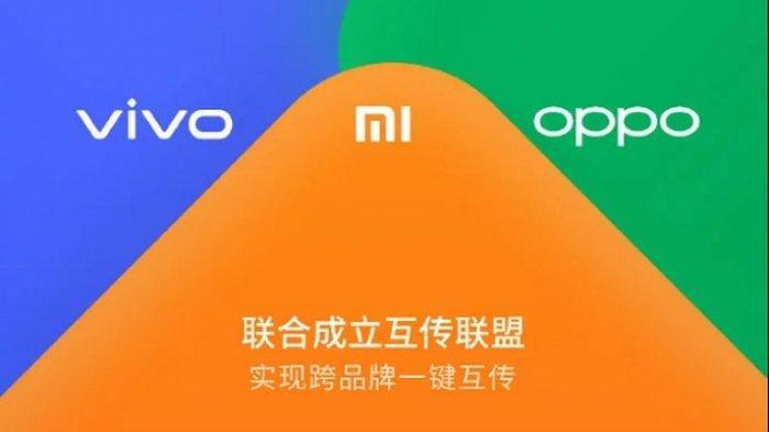 Xiaomi Oppo & Vivo Punya Fitur Transfer Data Wireless Kecepatan 20 Megabyte per Detik, Mirip AirDrop