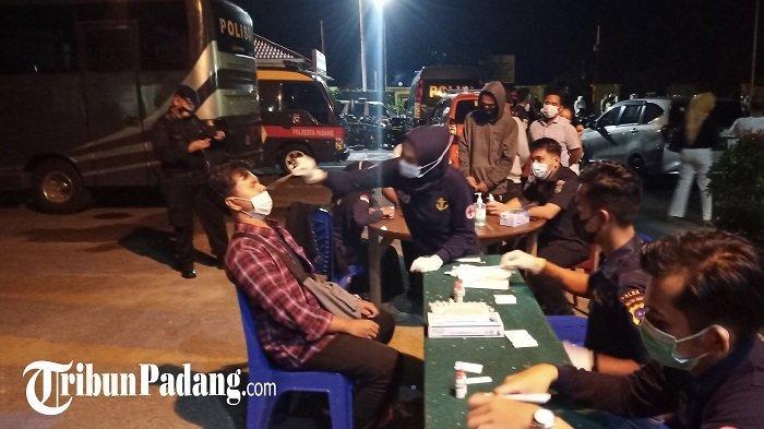 Operasi Yustisi di Kota Padang: 124 Orang Kedapatan Tak Pakai Masker, dan Langgar Protokol Kesehatan