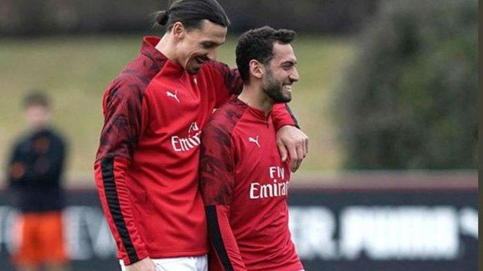 Kondisi Bintang AC Milan Zlatan Ibrahimovic Jelang Lawan Inter Milan, Siap Main atau Tidak?