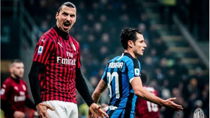 Rekor Minor AC Milan Saat Hadapi Inter Milan, 5 Laga Derbi Terakhir I Rossoneri Tak Pernah Menang