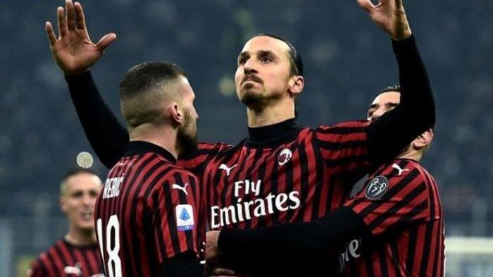 Menang 2-0 Lawan Bologna AC Milan Nyaris Dibuat Malu Menit ke-2, Zlatan Ibrahimovic Borong 2 Gol