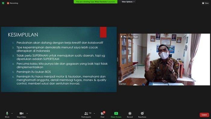 Kadisparbud Pariaman, Dwi Marhen Yono Jadi Pembicara, Isi Kuliah Umum Fakultas Ilmu Administrasi UI