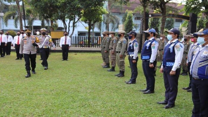 Polres Muara Enim Gelar Apel Pasukan Operasi Patuh Musi 2021, Target Putus Mata Rantai Covid-19