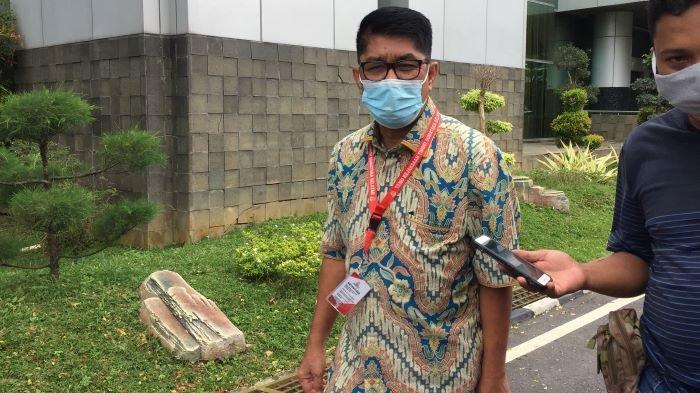 Mantan Ketua Panitia Pembangunan Masjid Raya Sriwijaya, Eddy Hermanto di Tetapkan Sebagai Tersangka oleh Kejati Sumsel, Senin (8/3/2021).