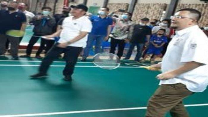 Palembang Masih Zona Merah, Jadwal Kejuaraan Eksekutif Bulutangkis PBSI Sumsel Ditunda