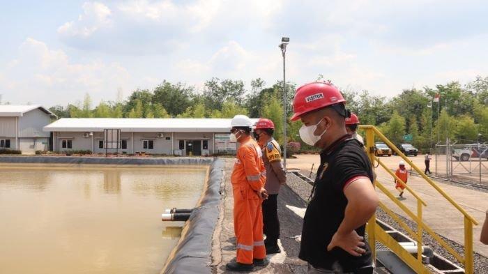 Antisipasi Karhutla, Kapolres Musi Rawas Pastikan Kesiapan Perusahaan Hadapi Bahaya Kebakaran