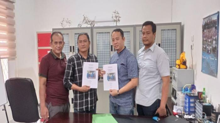 KUP Suta Nusantara Gandeng Petani Muba, Kenalkan Miniplant Pengolahan CPO