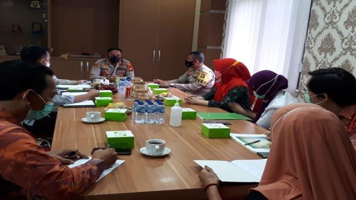 Kapolres Ogan Komering Ulu Pimpin Rakor Vaksinasi Covid-19, Bahas Distribusi Vaksin dan Kendalanya