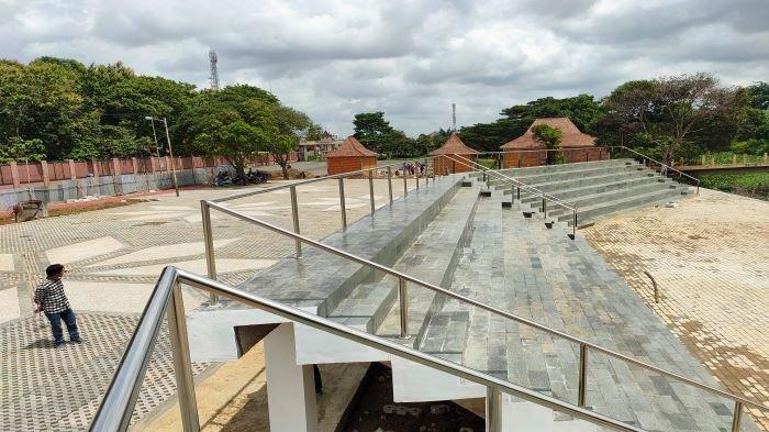 Kawasan Taman Purbakala Kerajaan Sriwijaya Berbenah, Dilengkapi  Pentas Terbuka dan Tribun Penonton