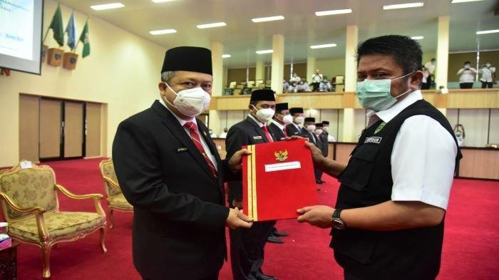 Gubernur Sumsel Tunjuk Dr Drs Ir H Achmad Tarmizi SE SH MT MSi MH Sebagai PLH Bupati OKU