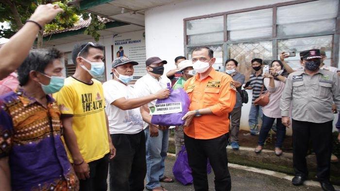 Bantuan Untuk Korban Bencana Alam di OKU Mulai Mengalir, PLH Bupati dan BPBD Sumsel Tinjau Korban